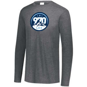 AUGUSTA YOUTH TRI-BLEND LONG SLEEVE CREW
